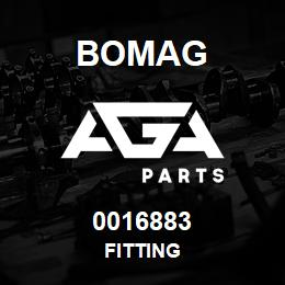 0016883 Bomag Fitting | AGA Parts