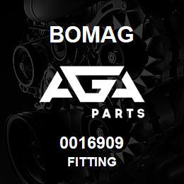 0016909 Bomag Fitting | AGA Parts