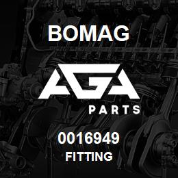 0016949 Bomag Fitting | AGA Parts