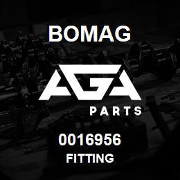 0016956 Bomag Fitting   AGA Parts