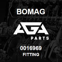 0016969 Bomag Fitting | AGA Parts