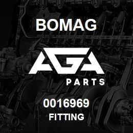 0016969 Bomag Fitting | AGA Parts