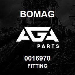 0016970 Bomag Fitting | AGA Parts