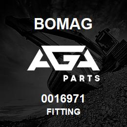 0016971 Bomag Fitting | AGA Parts