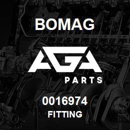 0016974 Bomag Fitting | AGA Parts