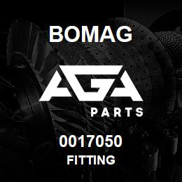 0017050 Bomag Fitting | AGA Parts