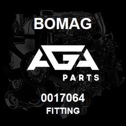 0017064 Bomag Fitting | AGA Parts