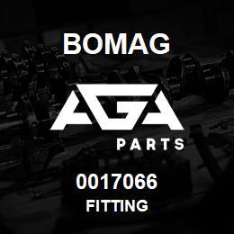 0017066 Bomag Fitting | AGA Parts