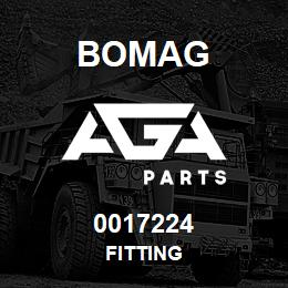 0017224 Bomag Fitting | AGA Parts