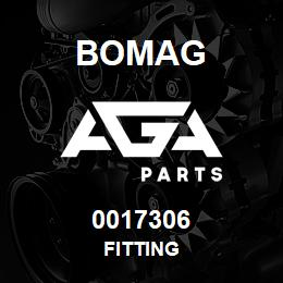 0017306 Bomag Fitting | AGA Parts