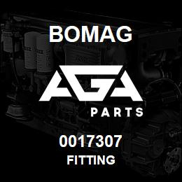 0017307 Bomag Fitting | AGA Parts