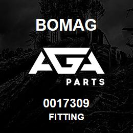 0017309 Bomag Fitting | AGA Parts