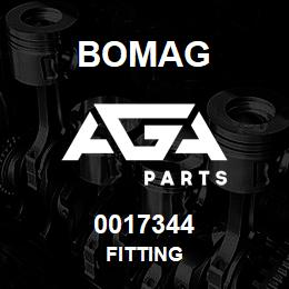 0017344 Bomag Fitting | AGA Parts