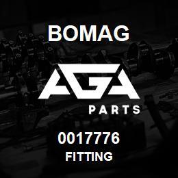 0017776 Bomag Fitting | AGA Parts
