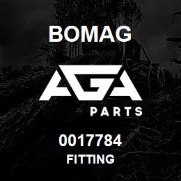 0017784 Bomag Fitting | AGA Parts