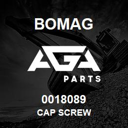 0018089 Bomag Cap screw | AGA Parts