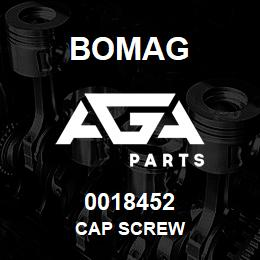 0018452 Bomag Cap screw | AGA Parts