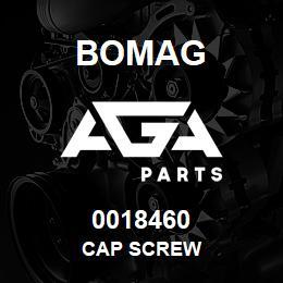 0018460 Bomag Cap screw | AGA Parts