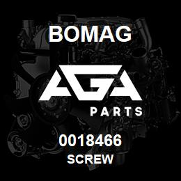0018466 Bomag Screw | AGA Parts