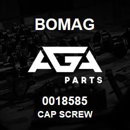 0018585 Bomag Cap screw   AGA Parts
