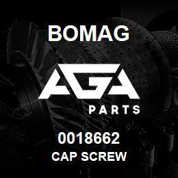 0018662 Bomag Cap screw | AGA Parts