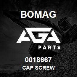 0018667 Bomag Cap screw | AGA Parts