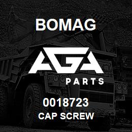 0018723 Bomag Cap screw | AGA Parts