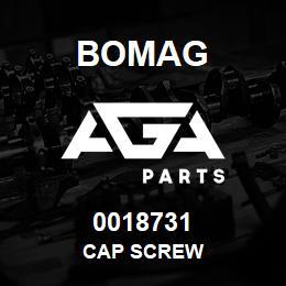 0018731 Bomag Cap screw | AGA Parts