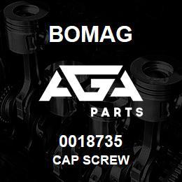 0018735 Bomag Cap screw   AGA Parts