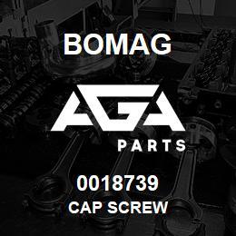 0018739 Bomag Cap screw | AGA Parts