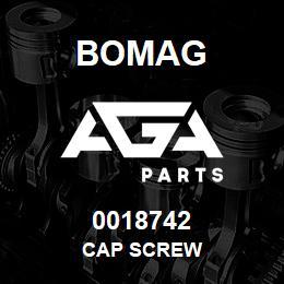 0018742 Bomag Cap screw | AGA Parts
