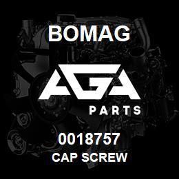 0018757 Bomag Cap screw | AGA Parts