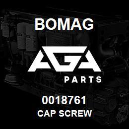 0018761 Bomag Cap screw | AGA Parts