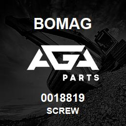 0018819 Bomag Screw | AGA Parts