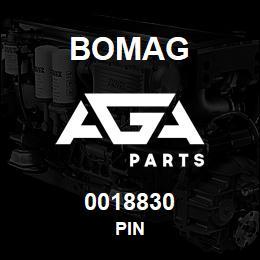 0018830 Bomag Pin | AGA Parts
