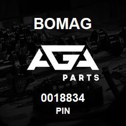 0018834 Bomag Pin   AGA Parts