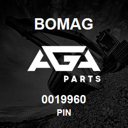 0019960 Bomag Pin | AGA Parts