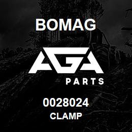 0028024 Bomag Clamp | AGA Parts