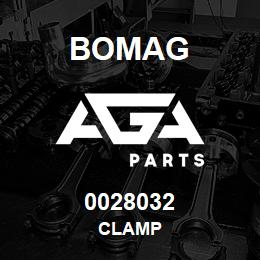 0028032 Bomag Clamp | AGA Parts