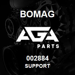 002884 Bomag Support | AGA Parts