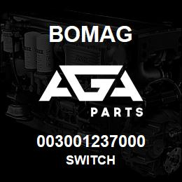 003001237000 Bomag SWITCH | AGA Parts
