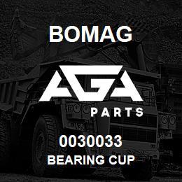 0030033 Bomag Bearing cup | AGA Parts