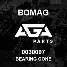 0030097 Bomag Bearing cone | AGA Parts