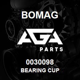 0030098 Bomag Bearing cup | AGA Parts