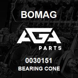 0030151 Bomag Bearing cone   AGA Parts