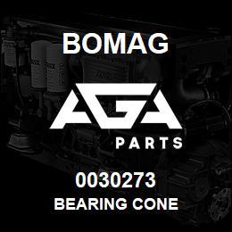0030273 Bomag Bearing cone | AGA Parts