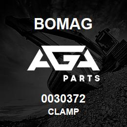 0030372 Bomag Clamp | AGA Parts