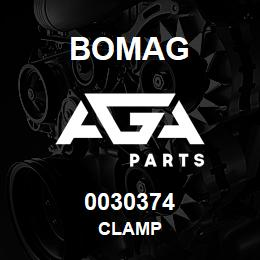 0030374 Bomag Clamp | AGA Parts