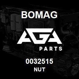 0032515 Bomag Nut | AGA Parts