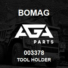 003378 Bomag Tool holder | AGA Parts